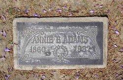Anna Louisa <i>Hughey</i> Adams