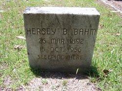 Hersey B Bahm