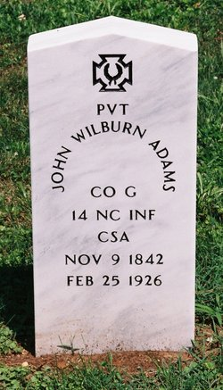 Pvt John Wilburn Adams