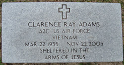 Clarence Ray Adams