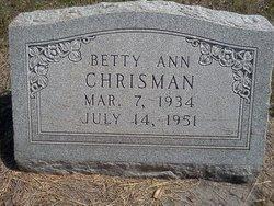 Betty Ann Chrisman