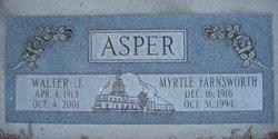 Myrtle Sarah <i>Farnsworth</i> Asper