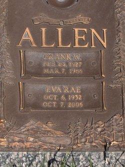Eva Rae <i>Davis</i> Allen