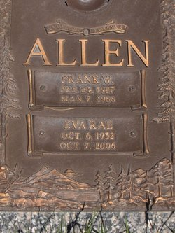 Frank William Allen