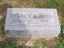 Hazel E Blaeuer