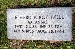 Richard F Rothwell