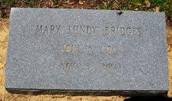 Mary <i>Lundy</i> Bridges