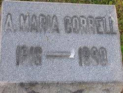 Anna Maria <i>Shaffer</i> Correll