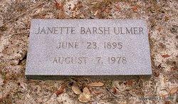 May Janette Jennie <i>Barsh</i> Ulmer