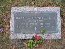 Harry George Sponseller, Jr