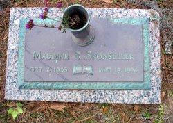Maudine <i>S</i> Sponseller
