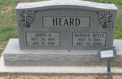 Winnie Belle Heard