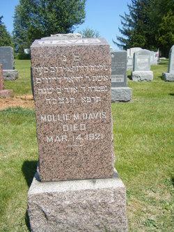 Mollie M <i>Emanuel</i> Davis