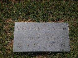 Sarah Adeline <i>Shook</i> Armor