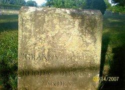 Rhoda Granny <i>Duncan</i> Andis
