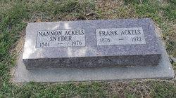 Nannon <i>Snyder</i> Ackels