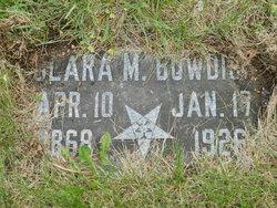 Clara M Bowdish