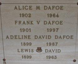 Alice M. Dafoe