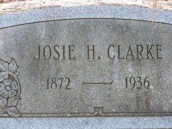 Josie H Clarke