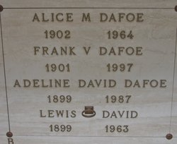 Adeline David Dafoe