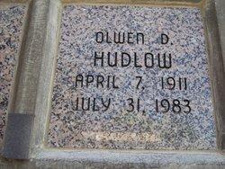 Olwen D Hudlow