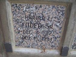 Harold L Foden, Sr