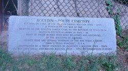 Bouldin-Routt Cemetery
