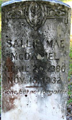 Sallie Mae <i>Acker</i> McDaniel