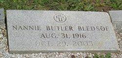 Nannie <i>Butler</i> Bledsoe