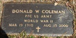Donald William Red Coleman