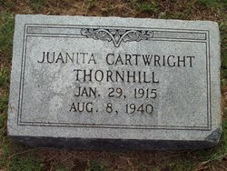 Juanita <i>Cartwright</i> Thornhill