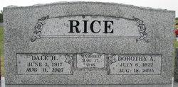 Dale Harvey Rice