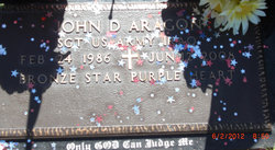 Sgt John David Aragon