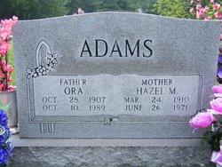 Ora Cornelius Adams
