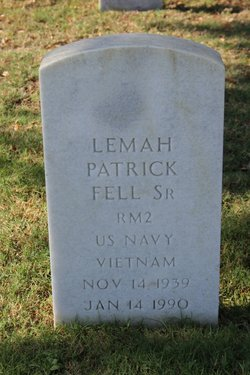 Lemah Patrick Pat Fell, Sr