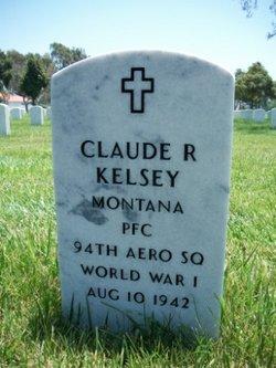 PFC Claude R Kelsey