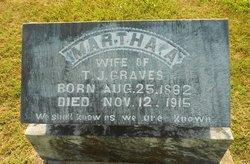 Martha Ann <i>Web</i> Graves
