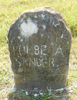 Phebe Ann <i>Foster</i> Sanders