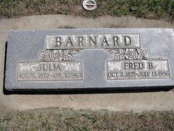 Julia <i>Beall</i> Barnard