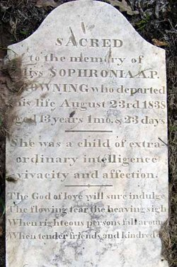 Sophronia A. P. Browning