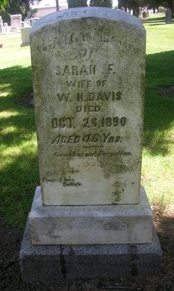 Mrs Sarah Frances <i>Haney</i> Davis