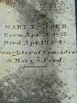 Mary Norton Stanley Ford