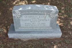 Granville Rainy Boileau