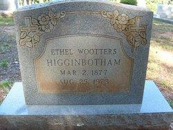 Ethel <i>Wootters</i> Higginbotham