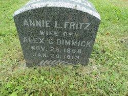 Annie L <i>Fritz</i> Dimmick