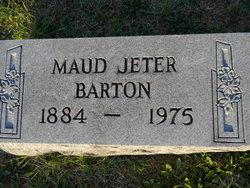 Maud Shannon <i>Jeter</i> Barton