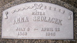 Anna <i>Slegl</i> Sedlacek