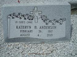 Kathyrn <i>Hurt</i> Anderson