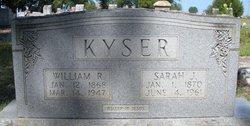 William R Kyser