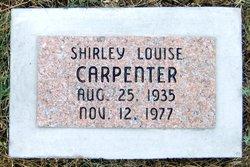 Shirley Louise <i>Whitefield</i> Carpenter